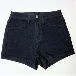 Wild Fable High Rise Black Shorts
